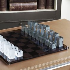 Fancy - Acrylic Chess Set by Jonathan Adler
