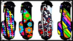 Loudmouth Golf impresses again with their new stand golf bags. These are certainly not short on vibrance!