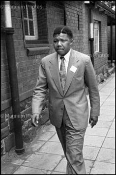 Nelson Mandela. Ian Berry  South Africa. 1961.