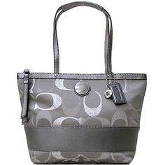 Authentic Coach Signature 3 Color Metallic Stripe Tote Shoulder Bag Coach,http://www.amazon.com/dp/B00A7P67UK/ref=cm_sw_r_pi_dp_lVIkrb17YA61YQ8A