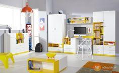 Moderná študentská izba Poly 1 | MT-nábytok.sk