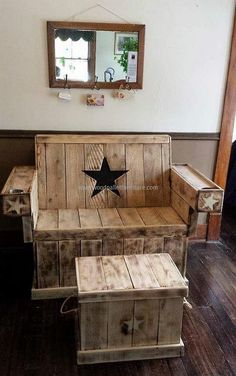 recycled wood pallets furniture