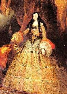 Marie Louise of Orléans (1662–1689) Queen consort of Spain 1679-1689 as 1st wife of King Charles II of Spain.  Granddaughter of Louis XIII of France, granddaughter of his sister Henrietta Maria of England by her daughter Henrietta Anne: thus the child of 1st cousins. Isolated at formal Spanish court, although loved by her exceedingly inbred husband. No issue.