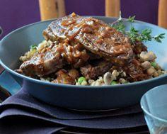short ribs with barley and mushroom stew braised short ribs beef short ...