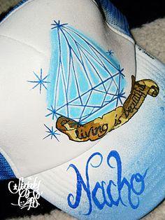 Nayade Caps Gorras personalizadas Custom caps: Living is Beautiful cap