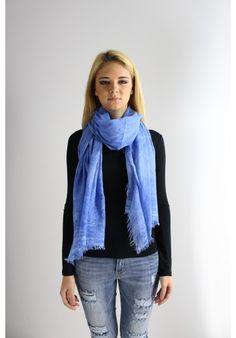 SCIARPA LIGHT BLUE - Melissa Agnoletti http://www.melissaagnoletti.com/it/donna/1443-sciarpa-double-face.html #Melissaagnoletti #Fashion #Style