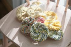 Ngo Family Farm: knitting tribbles
