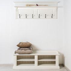 Avignon вешалка со скамейкой в стиле Прованс - Прихожая - Прочая мебель - Мебель по комнатам