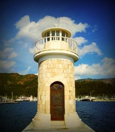 a lighthouse in marmaris from bigoche.com