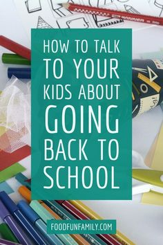 How to talk to your kids about back to school, and what preparing for the emotional aspect of back to school season is just as important as the school supply shopping trip. Sponsored by Kleenex Back To School Breakfast, Back To School Kids, Back To School Hacks, Back To School Supplies, School Ideas, School Stuff, Middle School, Stem Learning, Learning Activities