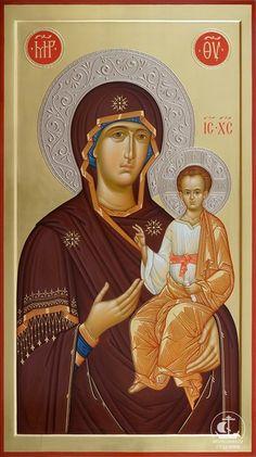 Фотография Our Lady Of Rosary, Roman Church, Byzantine Icons, Orthodox Christianity, Virgin Mary, Holy Family, Orthodox Icons, Madonna, Catholic