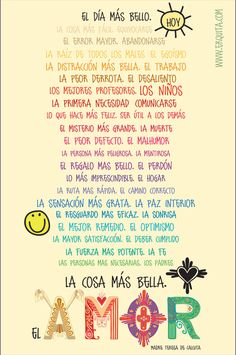 El da ms bello Madre Teresa de Calcuta frases amor love http://www.gorditosenlucha.com/