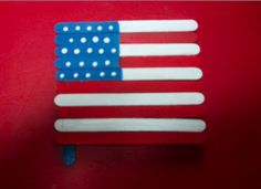 Planetpals Make recycle usa flag and star for patriotic holidays recycle project with the kids of their favorite place on earth! Teach them to love their world and care for it.