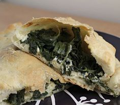 Kale and Three Cheese Calzones - Joanne Eats Well With Others