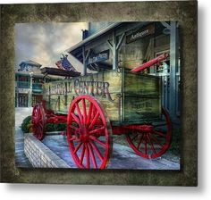 Chaparral Metal Print featuring the photograph Chaparral Wagon by Hanny Heim