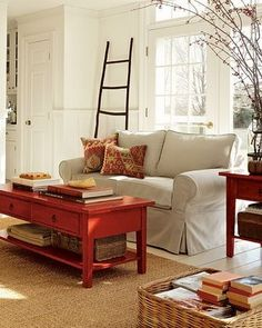 Living room by Pottery Barn