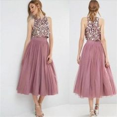 Two Piece Bridesmaid Dresses