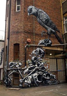 Kết quả hình ảnh cho art street in London (Anh)