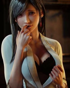 Final Fantasy 7 Tifa, Final Fantasy Girls, Final Fantasy Artwork, Final Fantasy Characters, Final Fantasy Vii Remake, Dark Fantasy Art, Amazing Cosplay, Best Cosplay, Tifa Lockhart