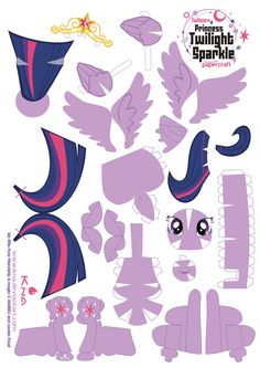 Twilight Papercraft pattern by Kna.deviantart.com on @deviantART. Others also available.