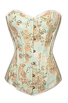 Dear-lover Women's Plus Size Peony Floral Embroidery Flock Boned Denim Lace Up Waist Training Corset Top Blue Medium Cfanny http://www.amazon.com/dp/B00SBBT5YC/ref=cm_sw_r_pi_dp_3nobvb0FD6F6C