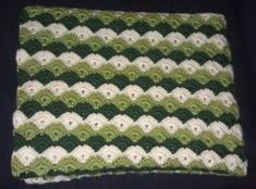 The Turtle Shell Lapghan is a great throw that the whole family will love. Use the classic shell stitch to crochet this free crochet afghan pattern.