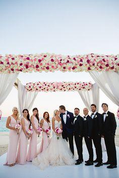 Wedding Party from Barbie Blank's Wedding Album   E! Online