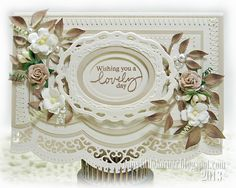 Spellbinders A2 Scalloped Borders One, Opulent Ovals, Classic Ovals Small, Classic Ovals Large;
