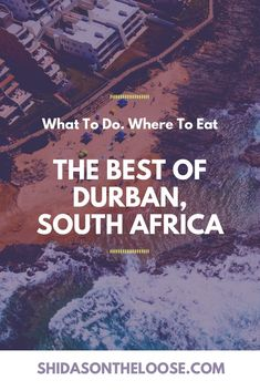 Durban is a gem in South Africa.  A beach city with tons to explore and do.  Read here about the best things to do. Durban | South Africa | What to do in Durban | Where to eat in Durban | What to see in Durban | Durban Beach | Durban Parks