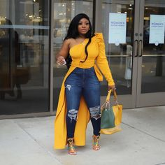 Miss Prissy ain't Pressed 💅🏾💅🏾💅🏾 Chubby Fashion, Curvy Girl Fashion, Diva Fashion, Denim Fashion, Plus Size Fashion, Curvy Outfits, Dressy Outfits, Chic Outfits, Spring Outfits