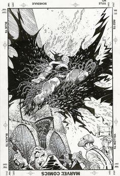 Original cover art by Sam Kieth from Detective Comics #654, published by DC Comics, December 1992.