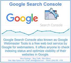 Webmaster Tools, Website