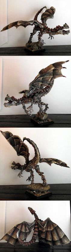 Elemental Dragon God of Air, from the homelands