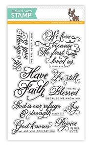Simon Says Clear Stamps BLESSED SSS101370 at Simon Says STAMP!
