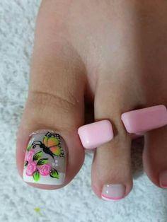Pedicure, Acrylic Nails, Nail Designs, Hair Beauty, Nail Art, Erika, Diana, Toenails, Craft Ideas