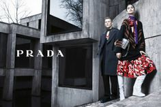 Mica Arganaraz and Karl Kolbitz by Steven Meisel for Prada Fall Winter 2014-2015
