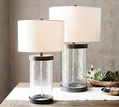 Murano Glass Table Lamp #potterybarn