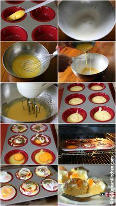 How to make Korean Style Egg Bread