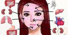 Secondo la medicina tradizionale cinese, a ogni parte del viso corrisponde un organo interno. Ecco perché quando ci viene un brufolo non è mai per caso.