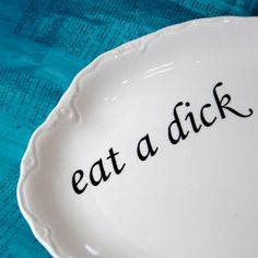 Who's next on the birthday list?? Would it be weird to put this on my wedding registry... ANGRY PLATES!