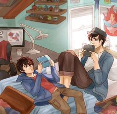 Hiro and tadashi pffttttttttttttt what no i'm not crying.