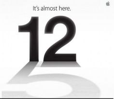 The buzz on internet is Apple will introduce iPhone 5 on September 12 that is next Wednesday. The reason for the confirmation is Apple has send the above Picture in the media invites which clearly represent iPhone 5 is on its way.