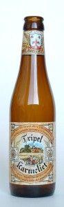 Tripel Karmeliet - my new favorite beer served in this big bottle http://www.corebrewing.com/wp-content/uploads/2009/01/tripel-karmeliet6.jpg