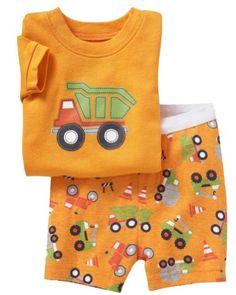 415b600db Kids: [Baby Tree]Baby Kid's Boys Girls Sleepingwear T-shirt+short pants