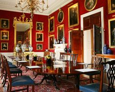 Althorp Estate | Breakfast room at Althorp House - not the main dining room, mind