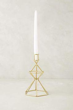 Oblique Candle Holder - anthropologie.com