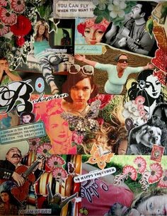 Image detail for -Bohemian collage art |