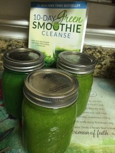 10-Day Green Smoothie Cleanse.|Our Little Pond