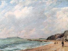 John Constable - A View Of Osmington Bay, Dorset,  Looking Towards Portland Island - kunstkopie.de