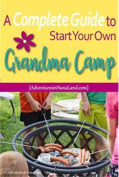 It doesn't matter whether you call it Grandma Camp or Cousin Camp, just as long as you call it FUN! We have ideas for you start your own camp, and we cover all the details! You won't want to miss this post on how to start your own Grandma Camp! Read now or pin for later, start planning your camp today! #grandmacamp #cousincamp #ideasforgrandmacamp